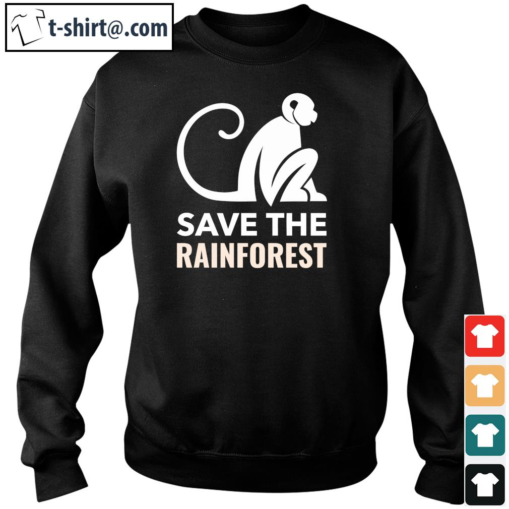 Save the rainforest s sweater