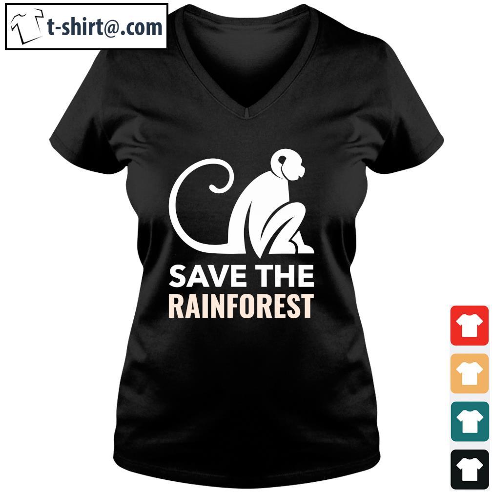Save the rainforest s v-neck-t-shirt